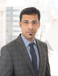 Headshot of Vikash Cherian, MBA, B.Com. border=