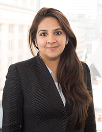 Headshot of Kimi Mehta, MBA, PMP border=