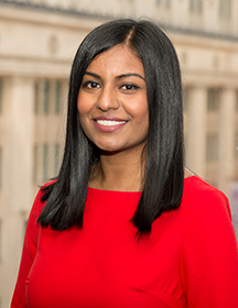 Headshot of Angelin Soosaipillai, LLB