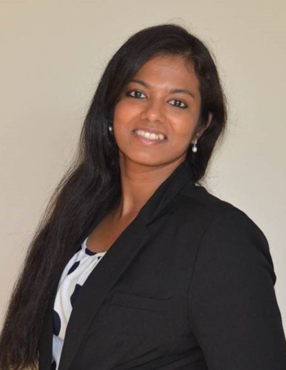 Headshot of Shalini Ashokkumar