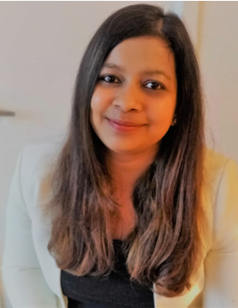 Headshot of Nupur Poddar, MBA