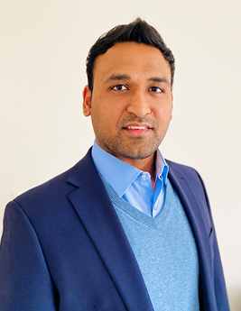 Headshot of Setu Sharma, CompTIA Security+